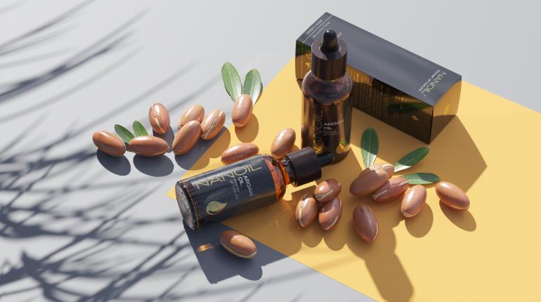 nanoil argan oil bottles hair care